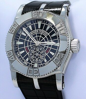 Roger Dubuis Just For Friends Easy Diver 46mm Limited Edition Men's Watch *MINT*