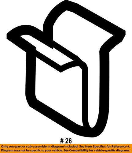 Gordie Boucher Ford >> FORD OEM Interior-Lower Center Pillar Trim Clip W714030S424 | eBay