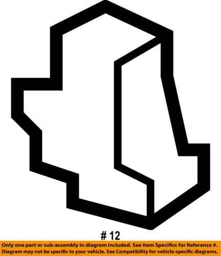 Ram CHRYSLER OEM 15-18 ProMaster City Hood-Support Rod Clip 68112784AA