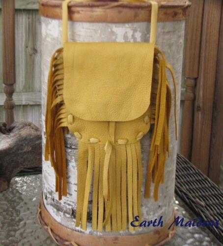 Native American Medicine Bag/Pouch Cherokee made William Lattie Cert of Auth