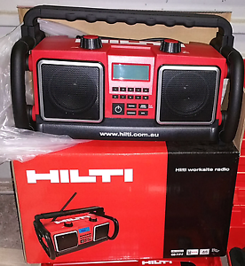 Hilti Worksite Radio 10 Push Buttons preset radio stations LCD Sc Botany Botany Bay Area Preview