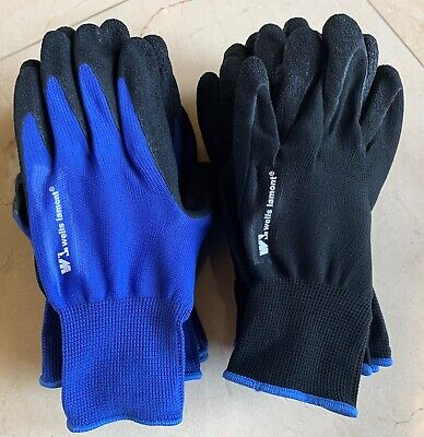 5 Pack Wells Lamont Mens Foam Latex Work Gloves Medium Or Large