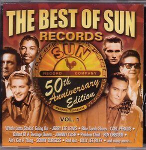 The-Best-Of-Sun-Records-Vol-1-50th-Anniversary-CD-12-Tracks