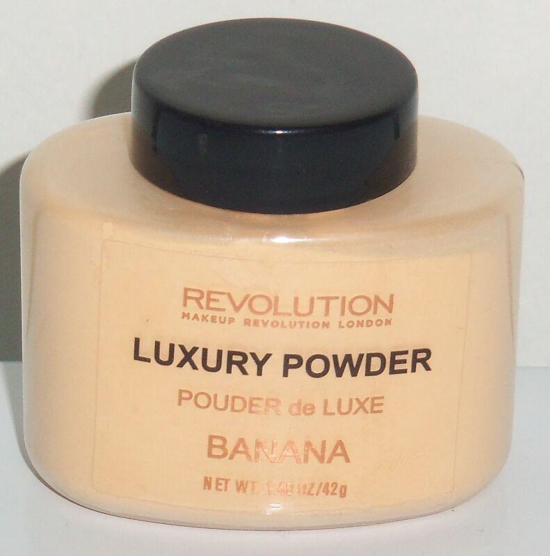 Banana makeup powder