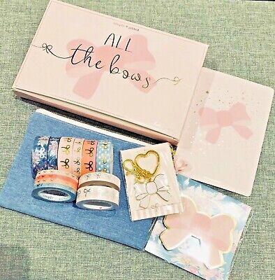 NEW Simply Gilded All The Bows Anniversary Box 12 washi tape cute NIB fast ship