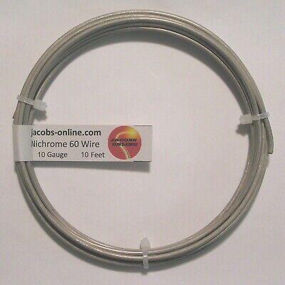 Nichrome 80 Resistance Wire 10 Awg Gauge 10 Feet