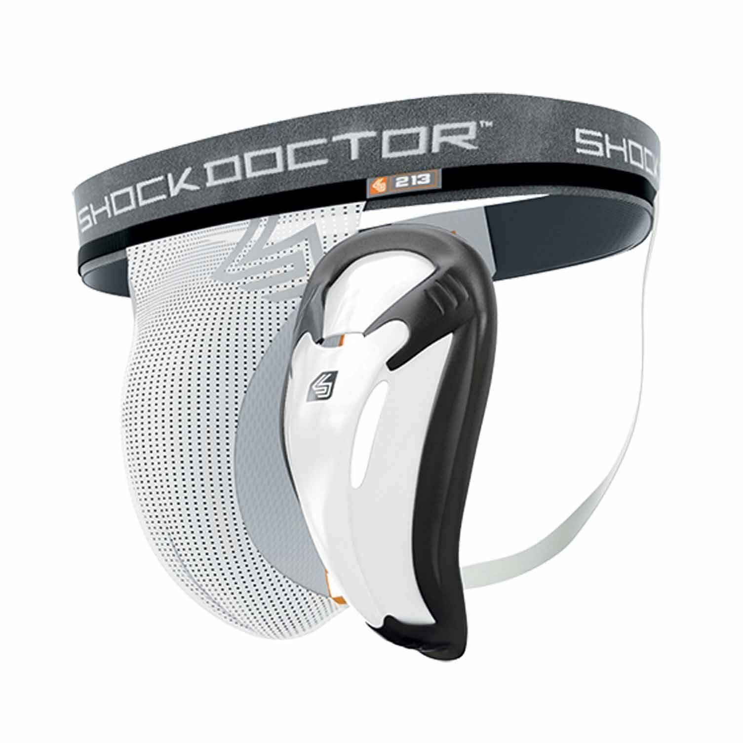 Shock Doctor Core Supporter mit Bio Flex Cup, Tiefschutz