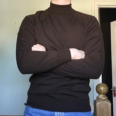 Men's John Smedley 100% Pure New Wool Made In England Sweater (Crewmeck Jumper)