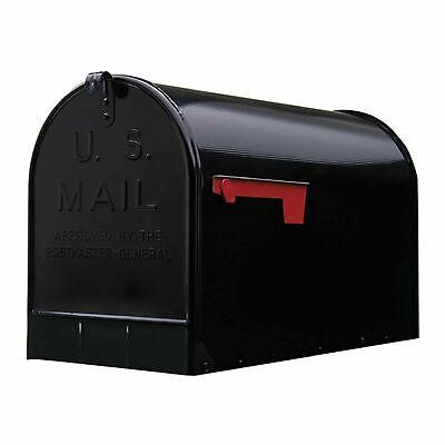 GIBRALTAR JUMBO POST MOUNT MAILBOX Galvanized Steel Extra Large Rural Mail -