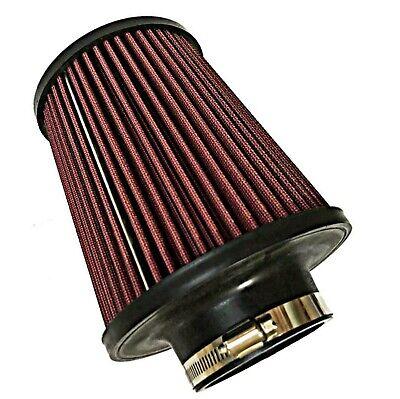 Universal K&N air filter LARGE 76mm 3