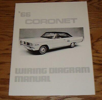 1966 Dodge Coronet Wiring Diagram Manual 66