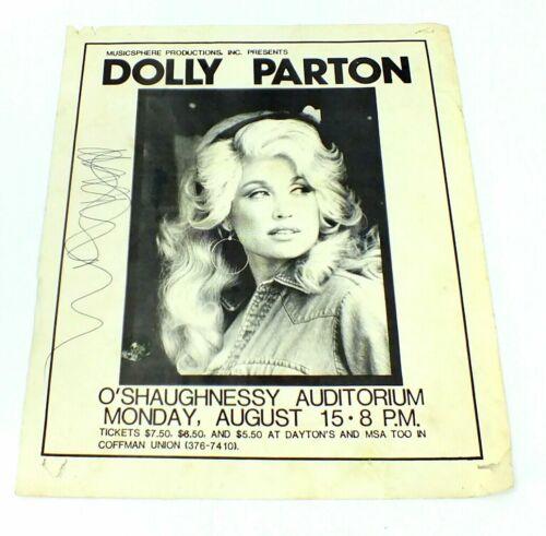 Vintage DOLLY PARTON Music Poster O
