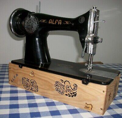 Soporte para maquina coser Alfa
