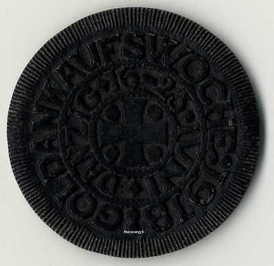 DANZIG, Goldankaufswoche, 1918, seltene Medaille, unzirkuliert
