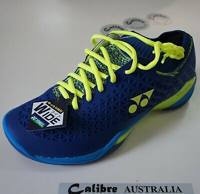 Yonex Badminton Indoor Power Cushion Eclipsion Z  Wide Mens Shoes, Navy,
