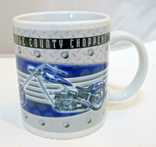 Orange County Choppers New York 2005 Coffee Mug Purple Blue & Silver