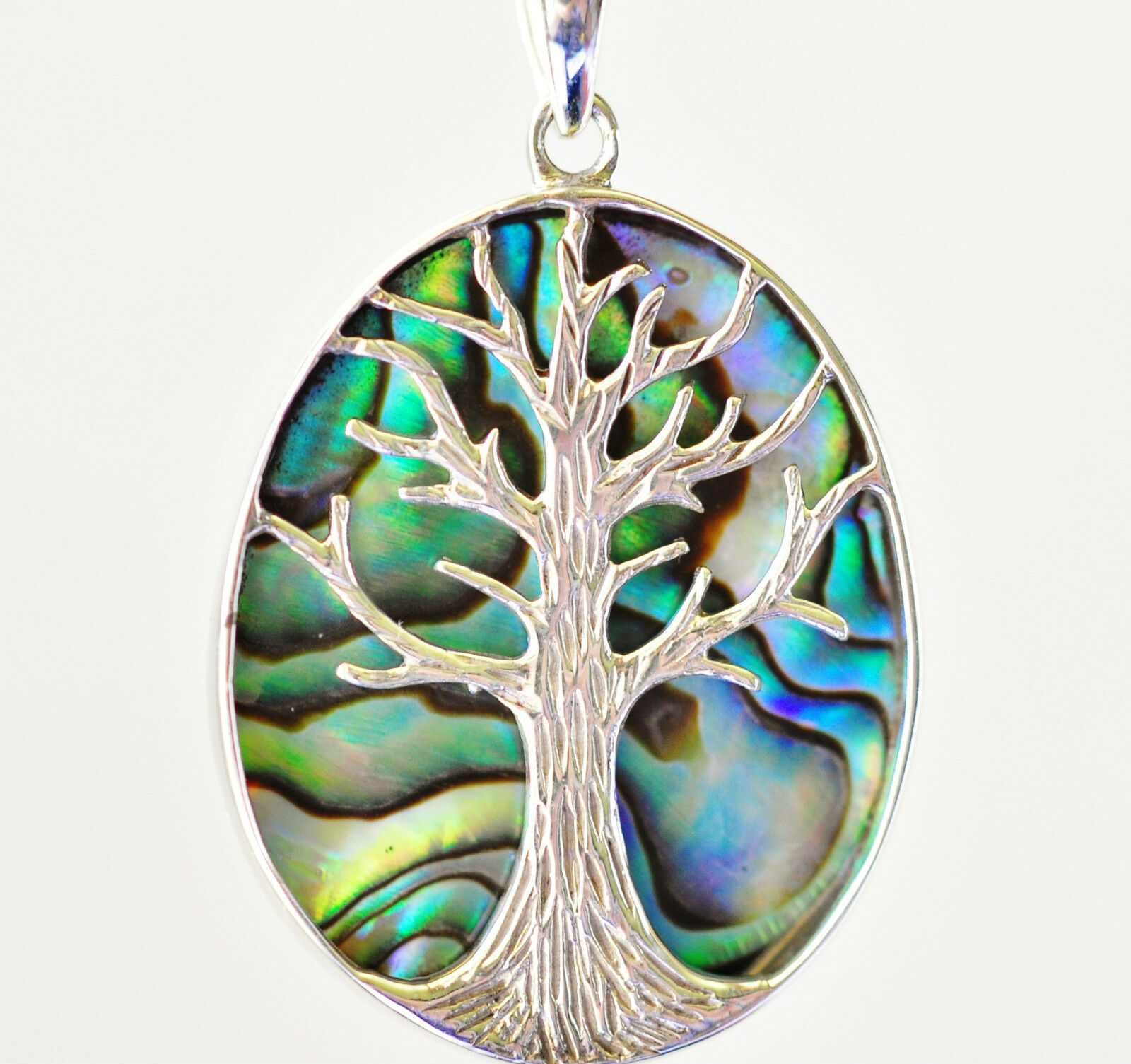 on guitar inch chain shell pendant trace shop paua