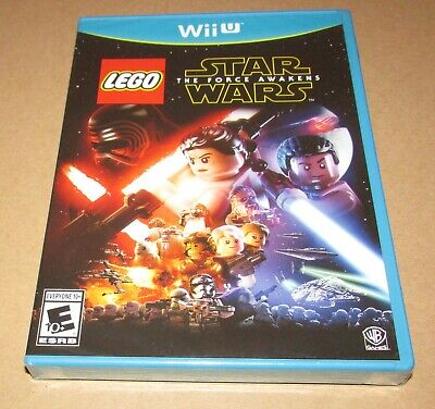 LEGO Star Wars: The Force Awakens (Nintendo Wii U) Brand New / Fast Shipping