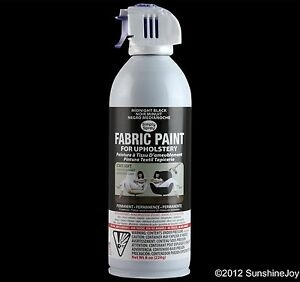 Upholstery Fabric Paint 8 oz Cans 16 Colors Simply Spray