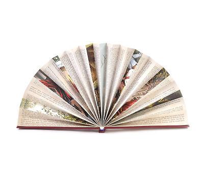 Rojo Libro Ventilador - The Literarios Abanico