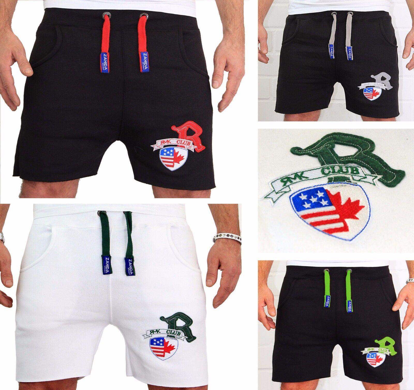 Uomo Capri pantaloncini corti Bermuda Donna Jogging Breve Fitness USA