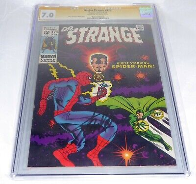 Doctor Strange #179 CGC SS Signature Autograph STAN LEE The Wondrous World of Dr