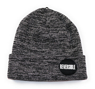 CSG Champs Sports Gear Reversible Space Dye Beanie Adult One Size Black White