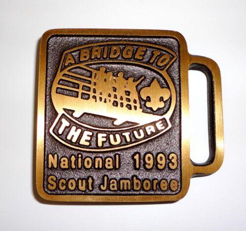 Max Silber 1993 Jamboree Belt Buckle - Boy Scouts of America
