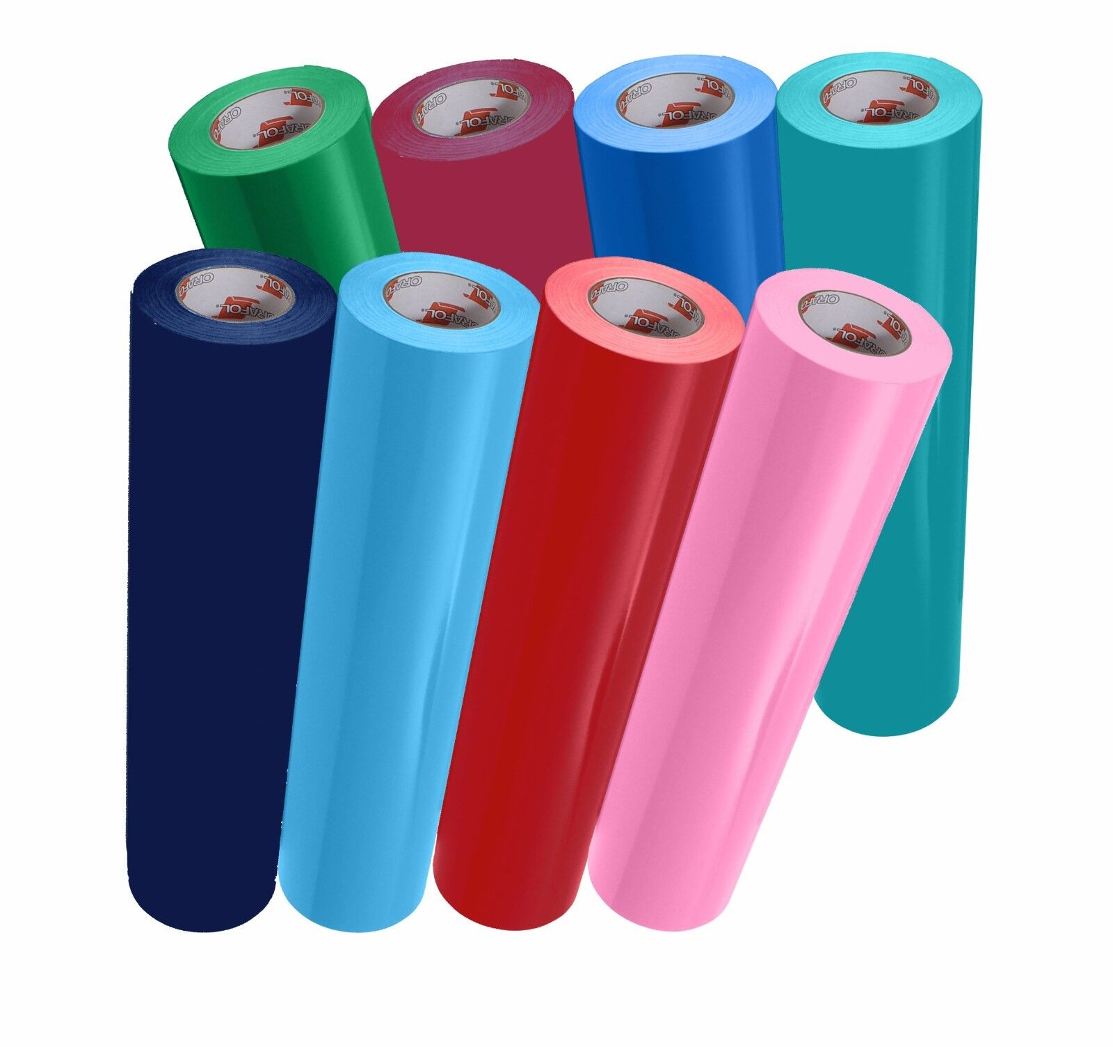 "Oracal 651 12"" x 5ft. Roll Glossy Vinyl - Different Colors"