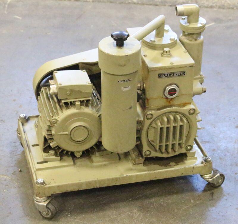Pfeiffer Balzers Duo 35 Dual Stage Rotary Vane Pump 35 m3/h