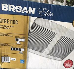 Brogan Elite Brand New Ventilation Fan  ( sealed in Box)