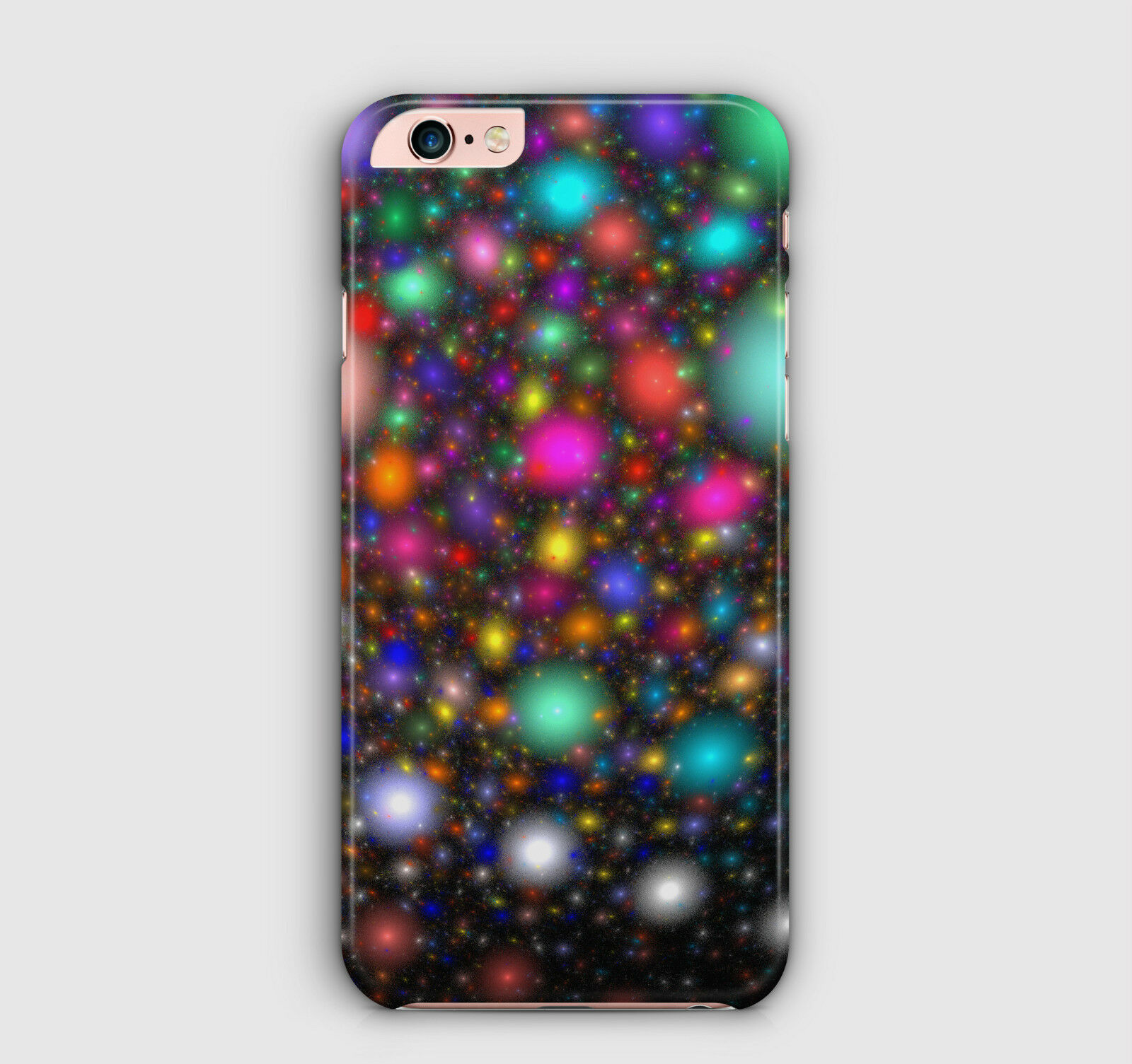 Glowing Lights Space Christmas Xmas Neon Decorations Phone Case