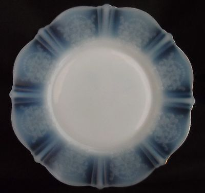 AMERICAN SWEETHEART white translucent glass plate by MacBETH EVANS 1930s American White Plate