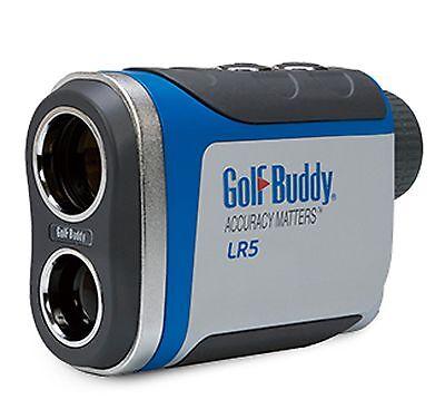 Golf Buddy LR5 3 Mode 6x Magnification 3 Modes Laser Golf Range Finder w/Case