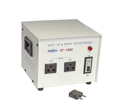 New Philmore St1000 1000 Watt 110220 Volt Step Up Or Step Down Transformer