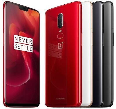OnePlus 6 64GB A6000 (FACTORY UNLOCKED) 6.28