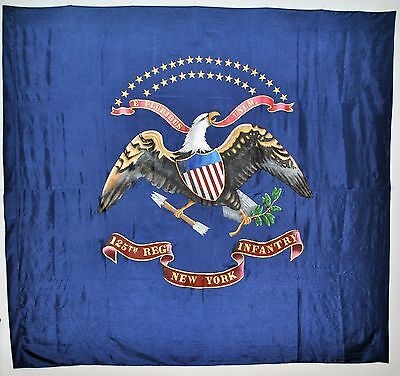Regimental Colors Flag - Civil War - (Hand Painted) - L@@K!