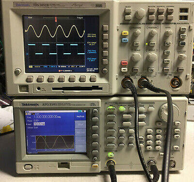 Tektronix Afg3101 1 Ch Arbitrary Function Generator 100mhz 1gsas