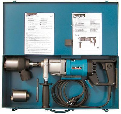 Makita Diamantbohrmaschine DBM 080 Set mit Staubabsaugung Schnellläufer