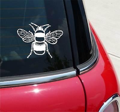 Bee Honey Honeybee Top View Graphic Decal Sticker Car Vinyl ()