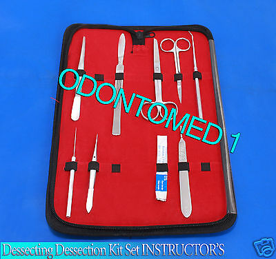 Dissecting Kit Set Instructors Biology Student Lab Teachers Choice-odm-591
