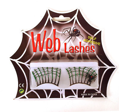 Web Lashes - Cobweb False Eye Lashes - Cobweb Eyes Halloween