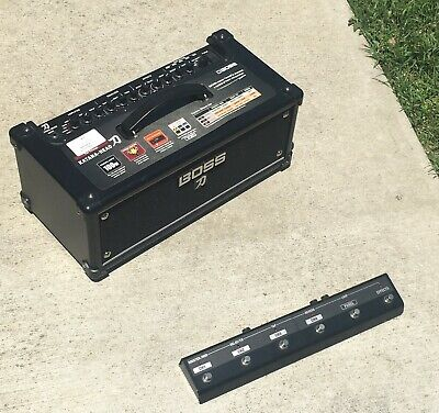Used Boss Katana KTN-Head 100W  Guitar Amp Head with Speaker and Remote Pedal