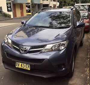 Toyota RAV4 Moore Park Inner Sydney Preview