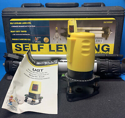 Urban Gorilla Tools Contractor Grade Self Leveling Laser Level With Heavy...