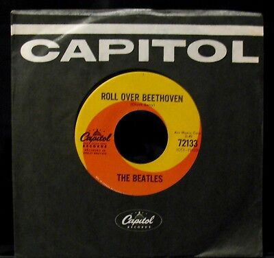 The Beatles Roll Over Beethoven Near Mint Radio Station 45 Capitol  72133 Canada
