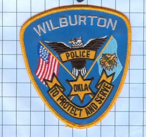 Police Patch  - Oklahoma - Wilburton