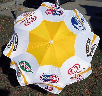 Multi-brand Good Humor Ice Cream Push Cart Umbrella - New