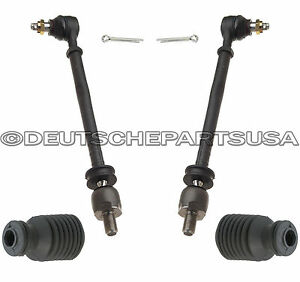 Steering-Tie-Rod-Rods-Rack-Boot-Boots-for-Porsche-928-928S-S-92834703101-SET-4