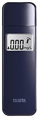 Tanita Alcohol Breathalyzer Slim Type Digital Breath Alcohol Sensor Navy Japan